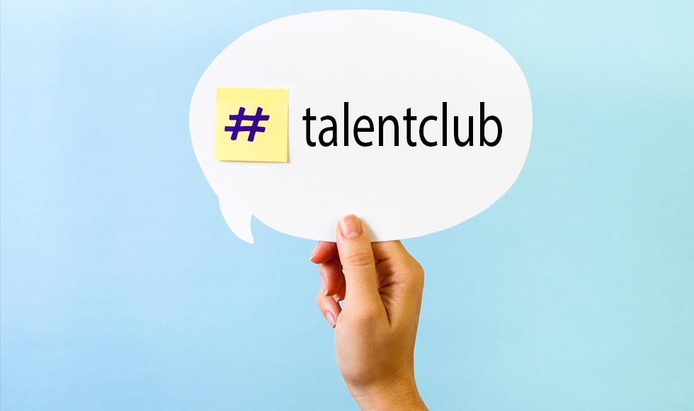 O #talentclub e as Redes Sociais